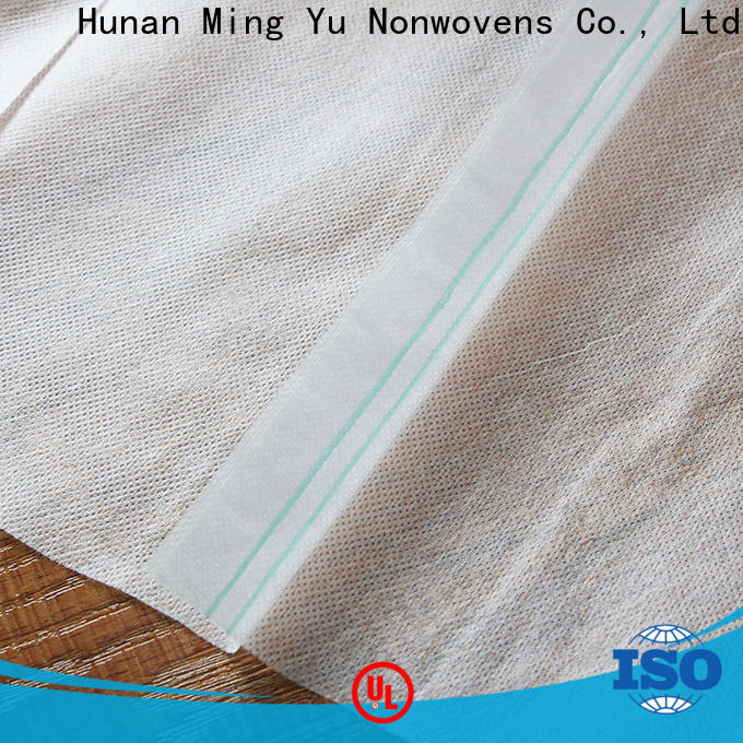 Ming Yu Top non woven geotextile fabric factory for handbag