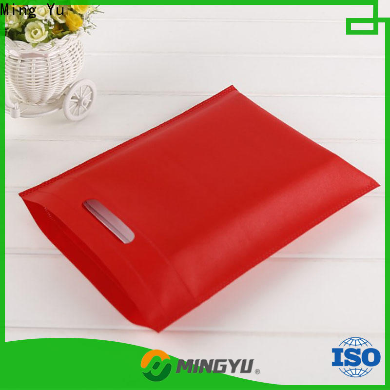 Ming Yu nonwoven non woven promotional bags Suppliers for package