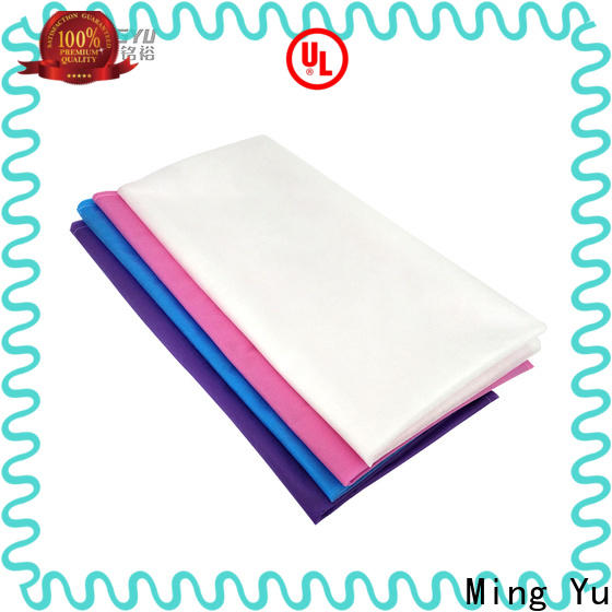 Ming Yu High-quality spunbond nonwoven company for bag