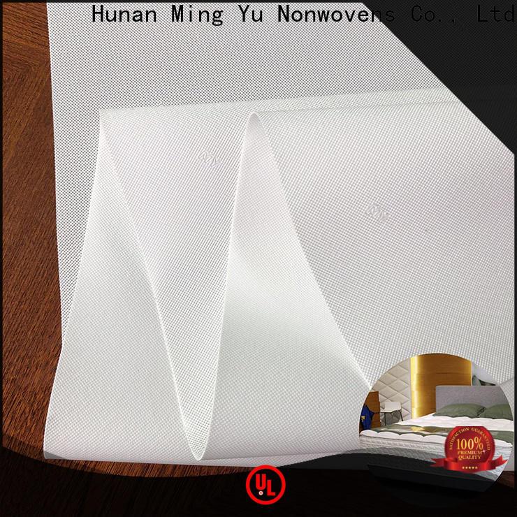 Ming Yu woven spunbond fabric Supply for handbag