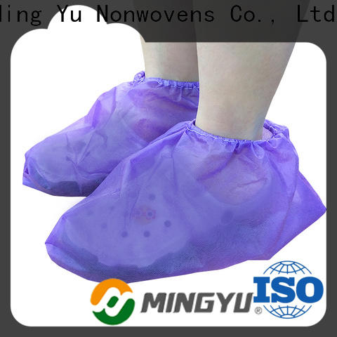 Ming Yu monitoring non-woven fabric manufacturing for business for home textile