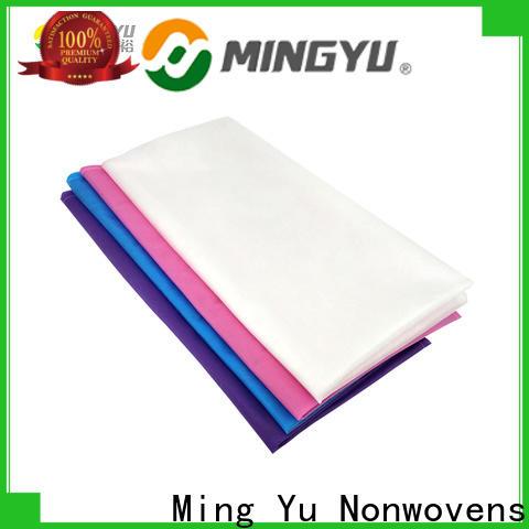 Ming Yu High-quality non woven polypropylene fabric factory for handbag