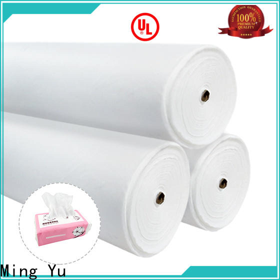 Ming Yu quality non-woven fabric manufacturing factory for package