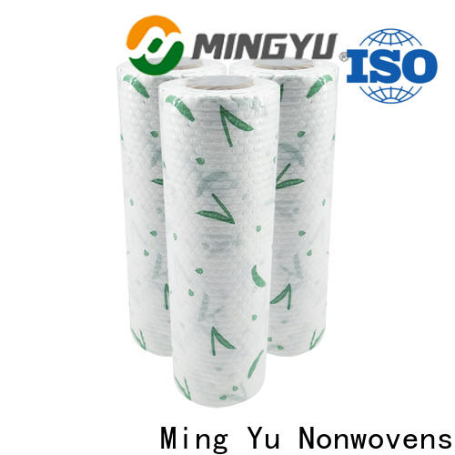 Ming Yu New spunlace non woven fabric factory for home textile