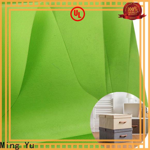 Ming Yu non non woven polypropylene fabric Suppliers for bag