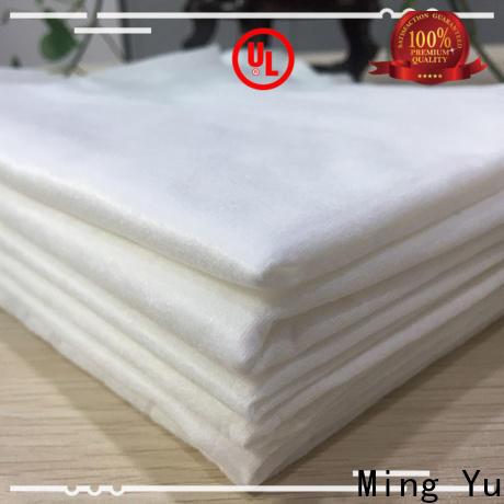 Ming Yu white spunbond fabric company for handbag