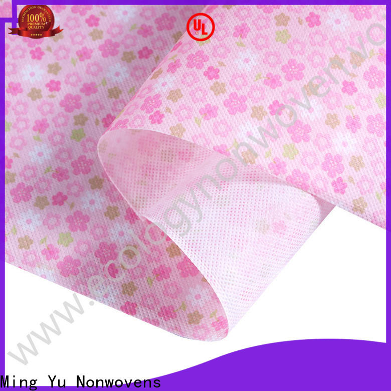 Ming Yu polypropylene pp spunbond nonwoven fabric Supply for home textile