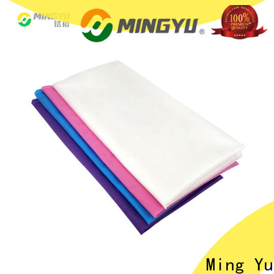 Ming Yu High-quality non-woven fabric manufacturing company for package