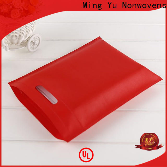 Ming Yu High-quality non woven promotional bags Suppliers for package