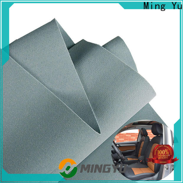 Ming Yu density bonded fabric factory for handbag