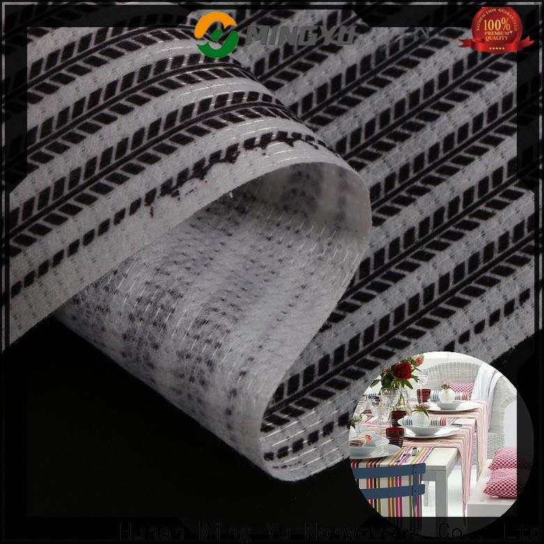 Ming Yu Latest stitchbond polyester fabric for business for handbag