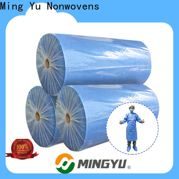 Ming Yu roll pp spunbond nonwoven fabric company for handbag