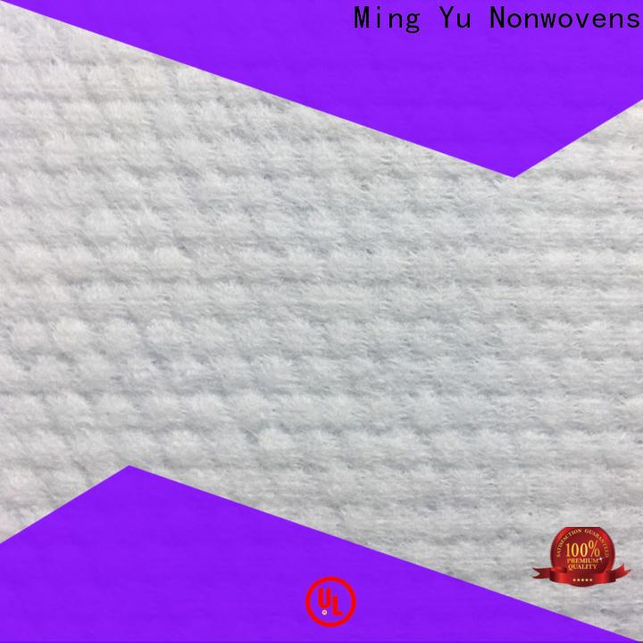 Ming Yu white spunbond fabric Suppliers for handbag