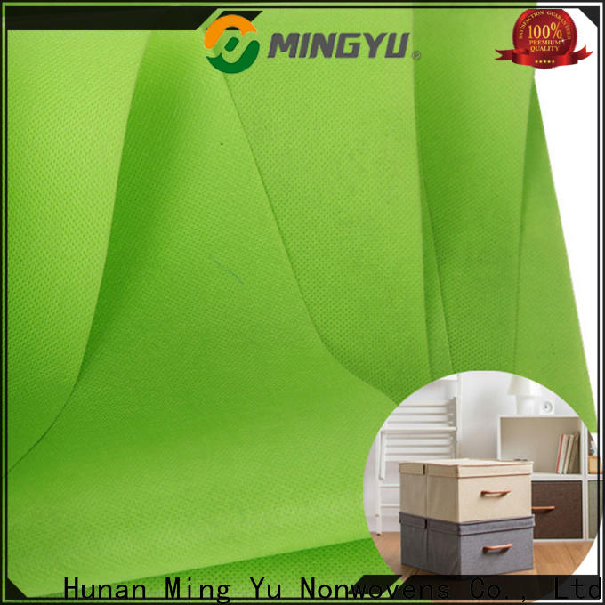 Ming Yu colorful pp spunbond nonwoven fabric company for storage