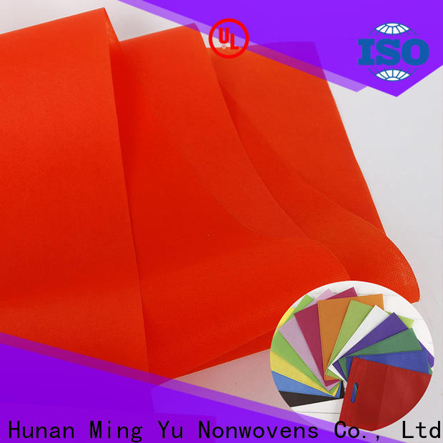Ming Yu polypropylene spunbond nonwoven Supply for bag