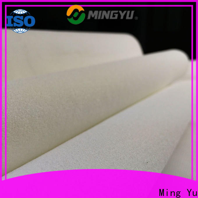 Ming Yu Best needle punched non woven fabric Suppliers for bag