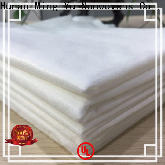 Latest spunlace non woven fabric rolls company for bag