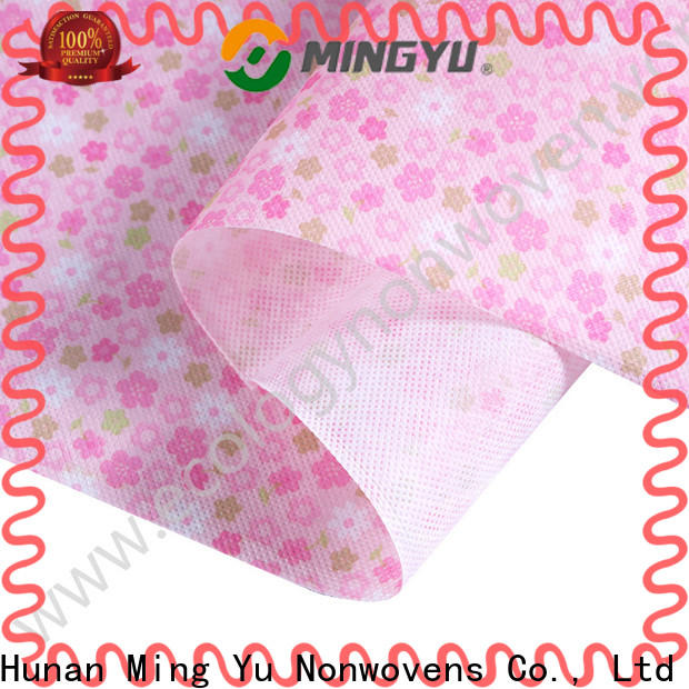 Custom non woven polypropylene fabric home factory for package