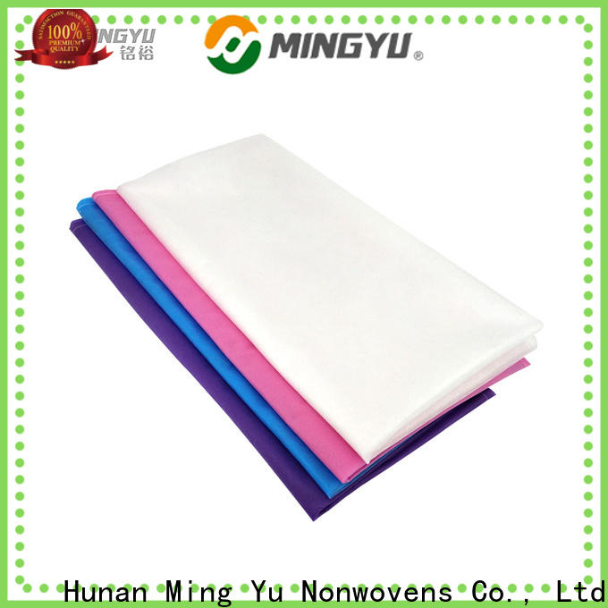 Ming Yu Latest non-woven fabric manufacturing Supply for handbag