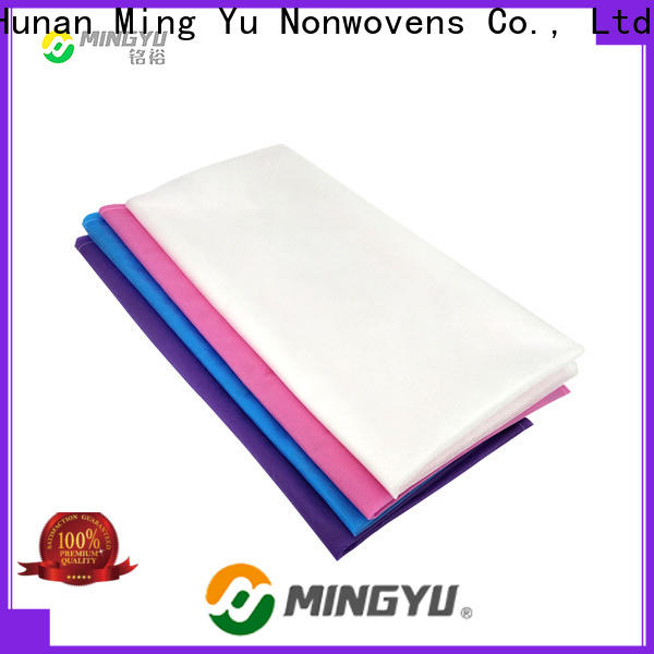 Ming Yu Wholesale pp spunbond nonwoven fabric factory for home textile