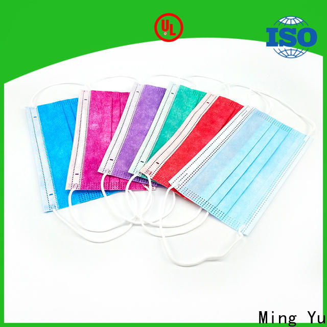 Ming Yu Custom face mask material factory for medical