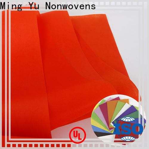 Ming Yu Custom non woven polypropylene fabric company for handbag