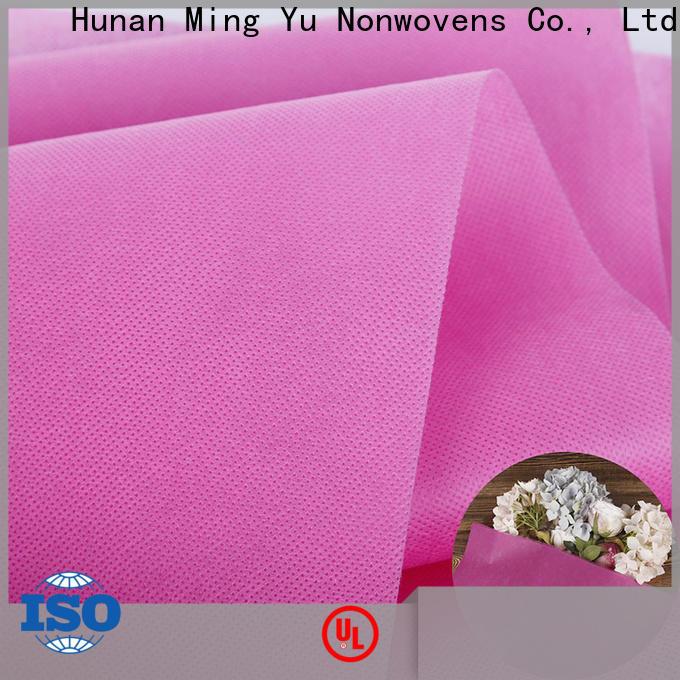 Ming Yu Top woven polypropylene fabric Supply for handbag