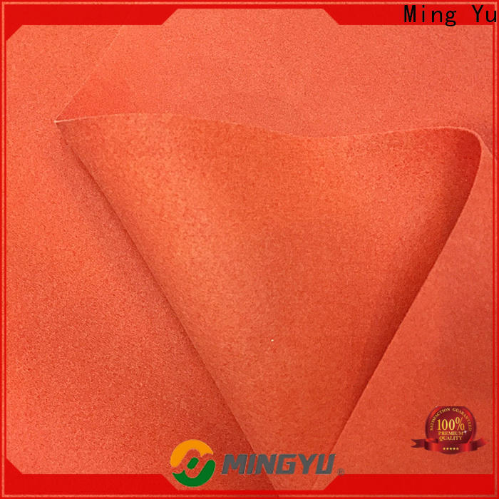 Ming Yu Latest needle punched non woven fabric for business for handbag