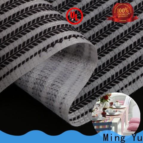 Ming Yu stitch stitchbond polyester fabric factory for home textile
