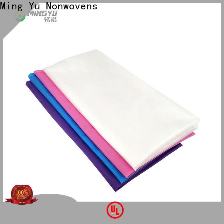Ming Yu Top pp non woven fabric Supply for package