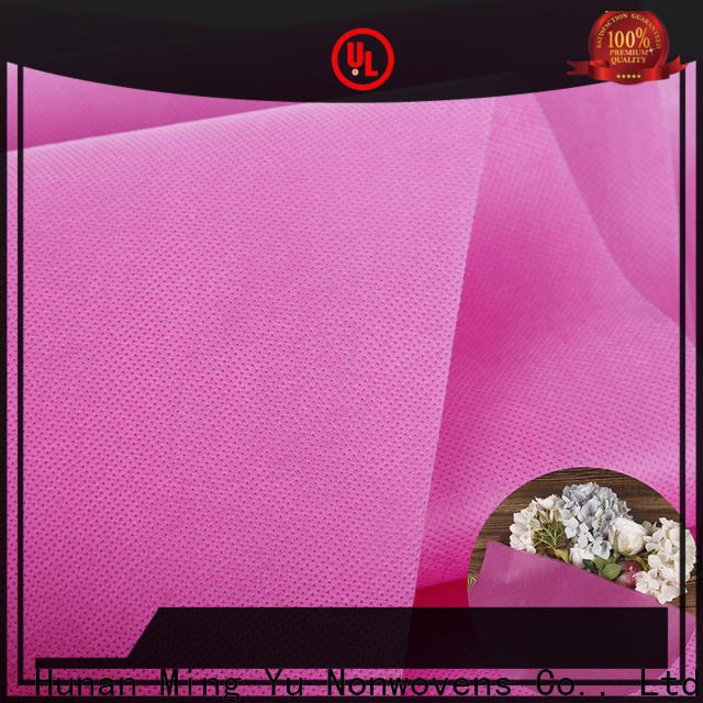 Ming Yu Wholesale non woven polypropylene fabric Supply for storage