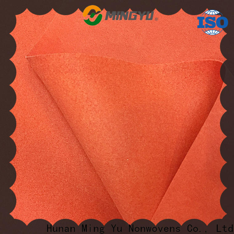 Top needle punched non woven fabric made factory for home textile