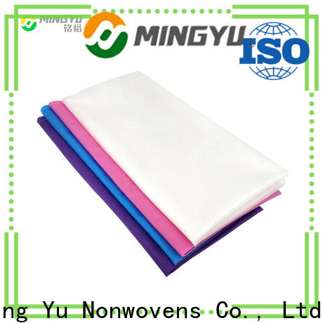 Ming Yu Best spunbond nonwoven fabric Supply for home textile