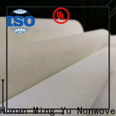 Ming Yu fibers felt nonwoven factory for home textile