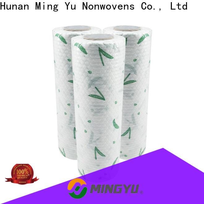 Ming Yu Top spunlace non woven fabric Supply for handbag