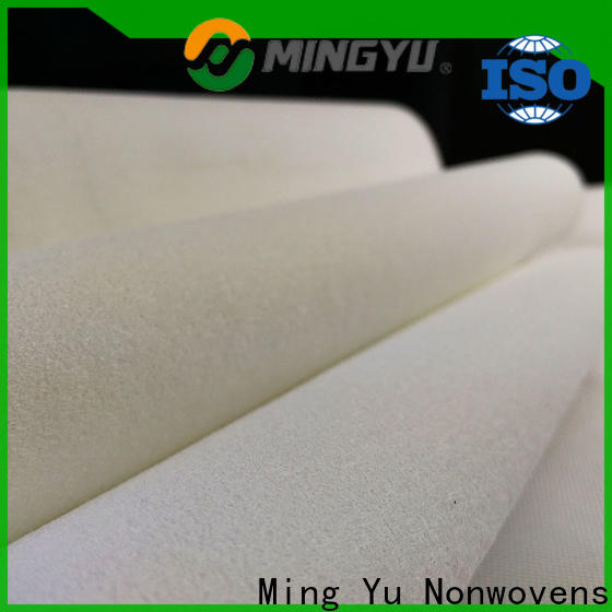 Latest polyester felt fabric factory for bag