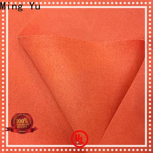 Ming Yu fibers felt nonwoven Supply for storage