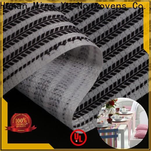 Ming Yu pet stitchbond nonwoven Supply for handbag