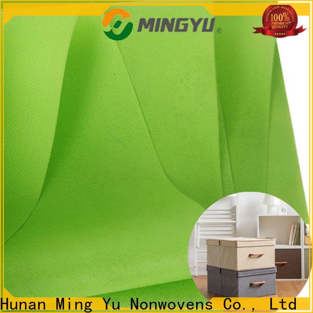 Latest spunbond nonwoven fabric rolls factory for handbag