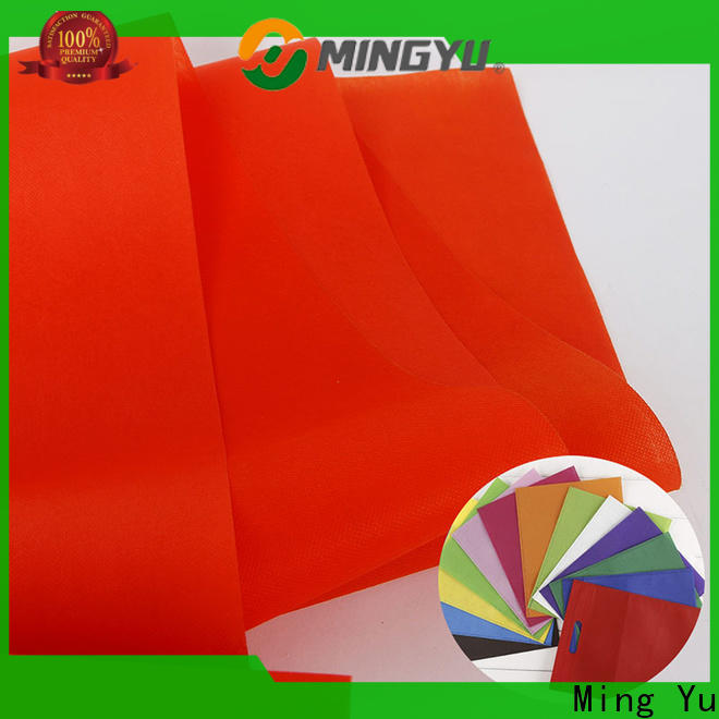 Latest non woven polypropylene fabric applications manufacturers for storage