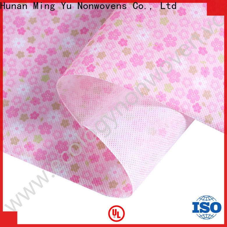 Ming Yu New non-woven fabric manufacturing Suppliers for home textile