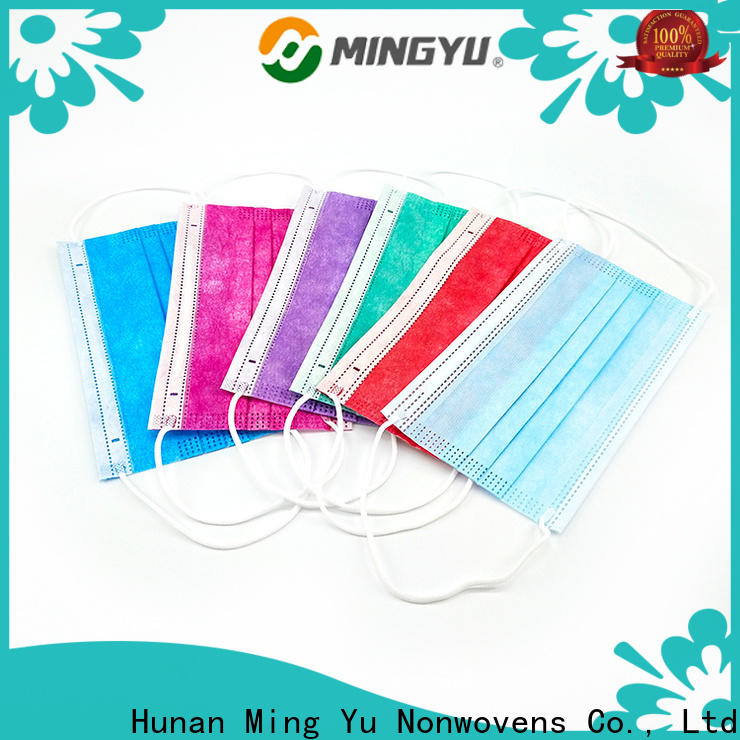 Ming Yu Top spunlace nonwoven manufacturers for package