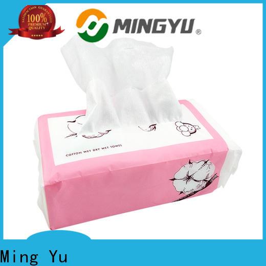 Ming Yu spunlace application New