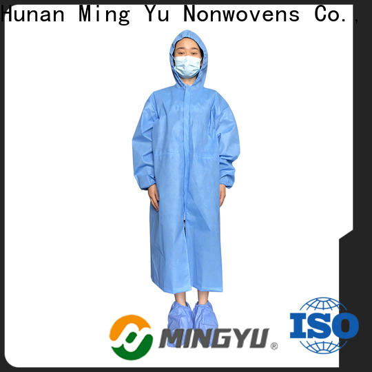 Ming Yu disposable coveralls company for medical