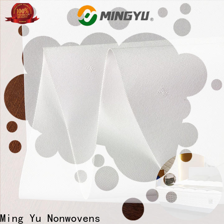 Ming Yu Latest non woven waterproof fabric Suppliers