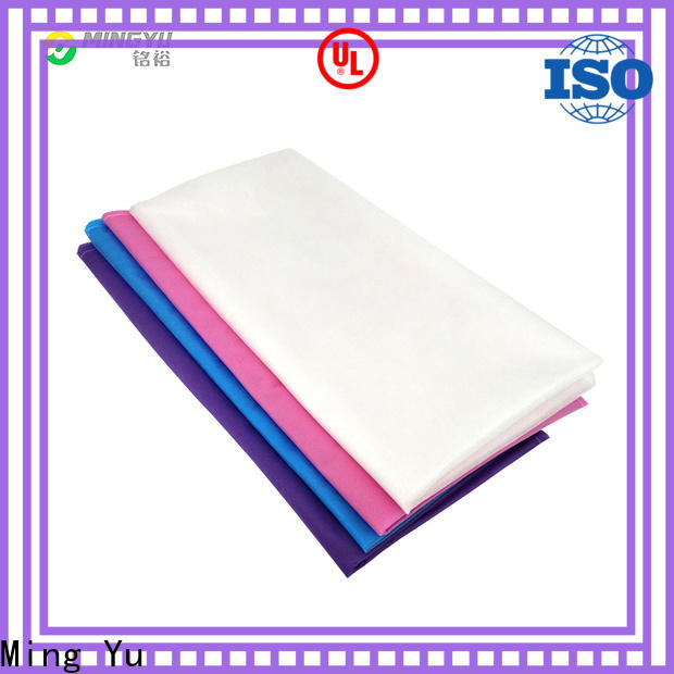 Ming Yu High-quality non woven hospital bed sheets company