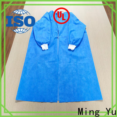 Ming Yu New disposable coveralls factory for hospital