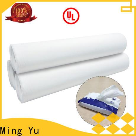 Ming Yu Latest non woven fabric material company