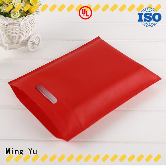 Ming Yu Top non woven polypropylene bags for business for package