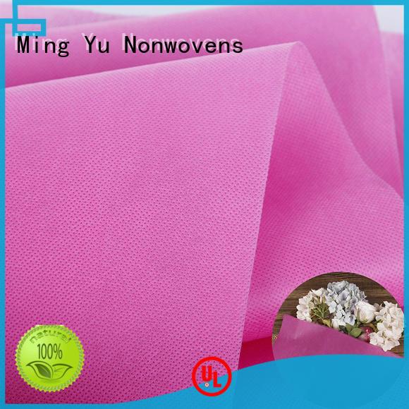 Ming Yu fabric spunbond nonwoven fabric handbag for bag